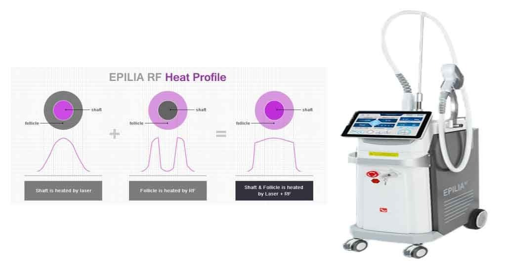 دستگاه لیزر دایود Epilia